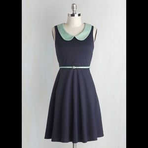 ModCloth Work to Play Dress in Navy